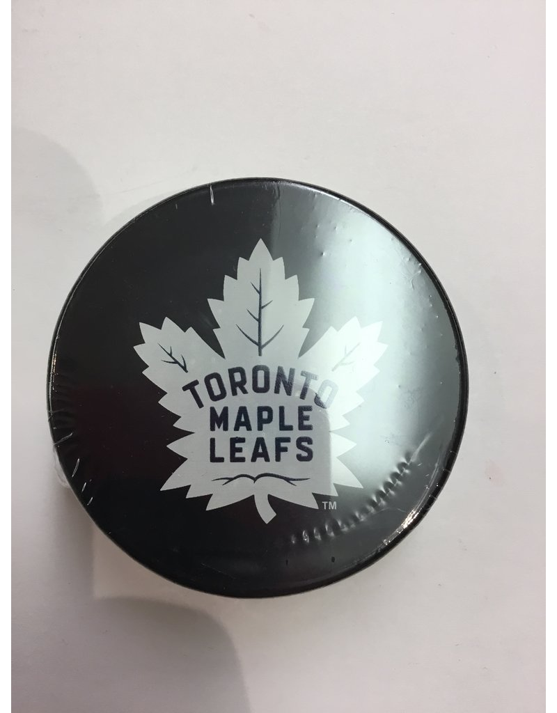ASSORTED PUCK TORONTO MAPLE LEAFS