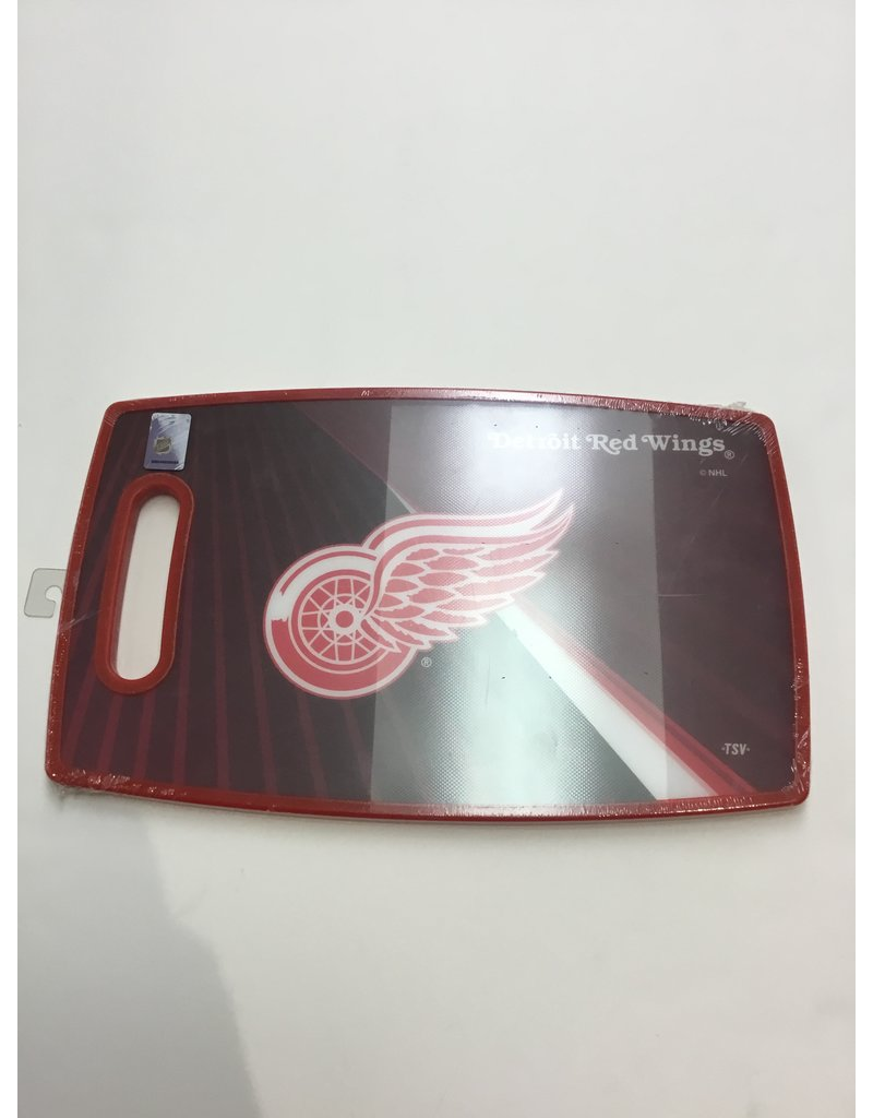 LARGE CUTTING BOARD DETROIT RED WINGS