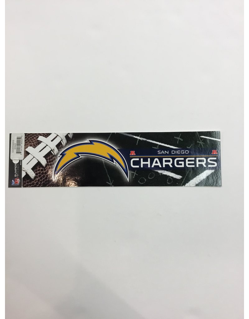 BUMPER STICKER SAN DIEGO CHARGERS