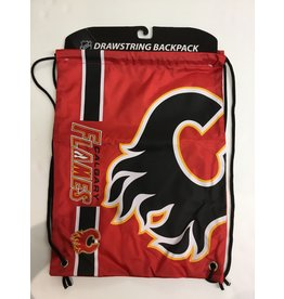CALGARY FLAMES DRAWSTRING BAG