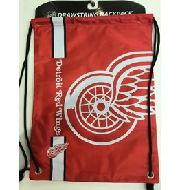 DETROIT RED WINGS DRAWSTRING BAG