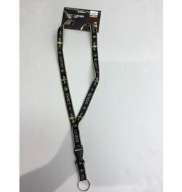 WEBBED LANYARD NEW ORLEANS SAINTS