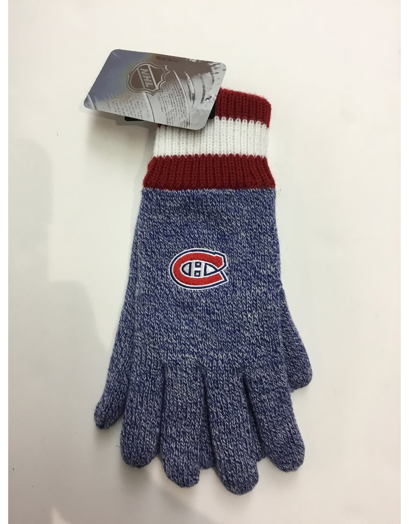 NHL GLOVES MONTREAL CANADIENS