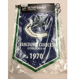 VANCOUVER CANUCKS VICTORY BANNER
