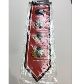 8X30 LEGACY BANNER CHICAGO BLACKHAWKS
