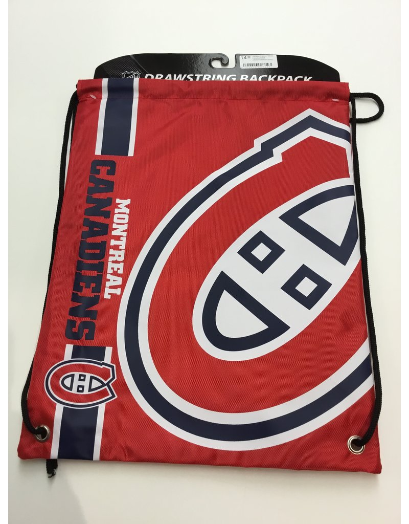 MONTREAL CANADIENS DRAWSTRING BAG