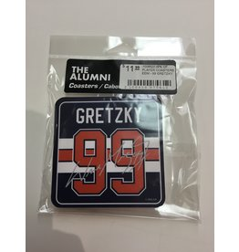 4PK OF PLAYER COASTERS- EDM - 99 GRETZKY