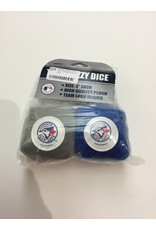 TEAM FUZZY DICE TORONTO BLUE JAYS