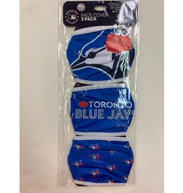 TORONTO BLUE JAYS FACE COVERINGS 3 PACK