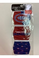 MONTREAL CANADIENS FACE COVERINGS 3 PACK