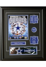 DALLAS COWBOYS ALL-TIME GREATS 16X20 FRAME