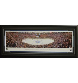 EDMONTON OILERS REXALL PLACE FINAL GOAL PANORAMA 16X42 FRAME