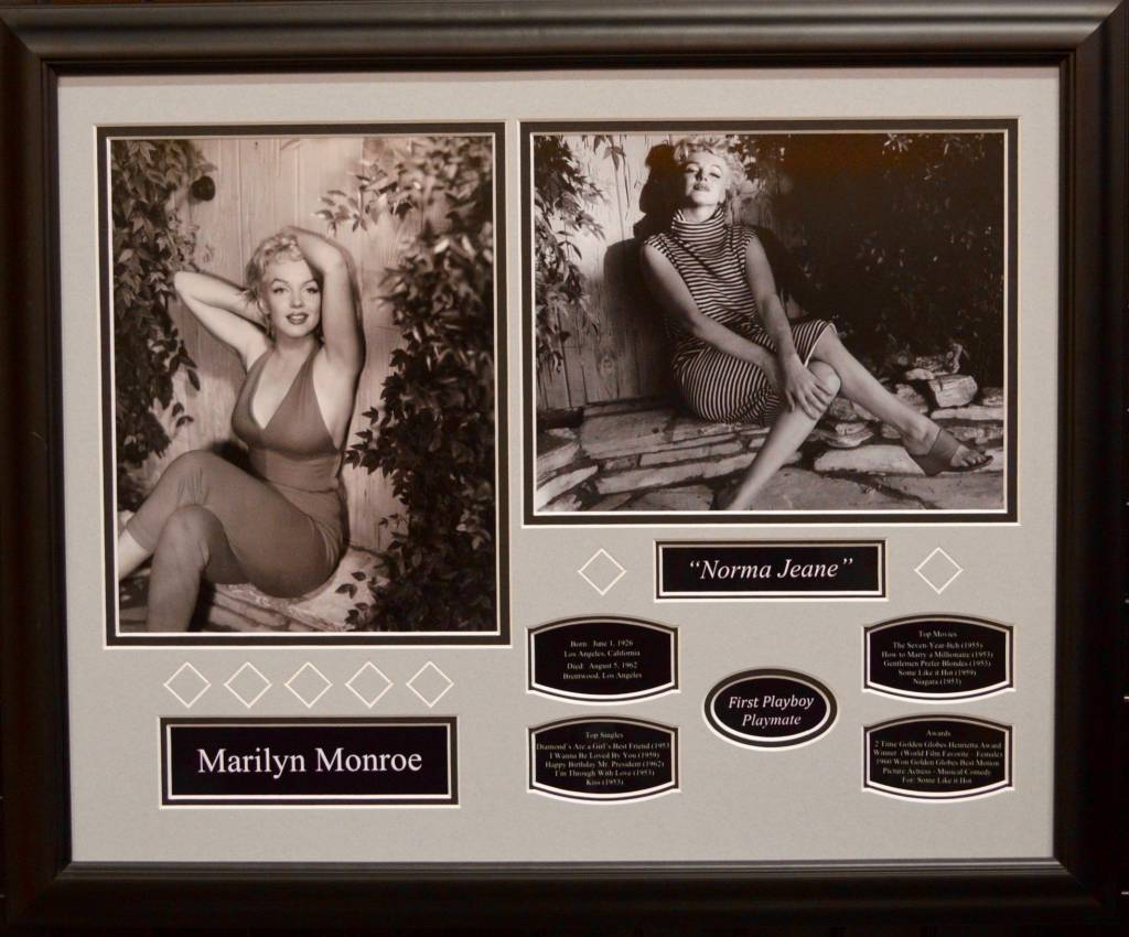 MARILYN MONROE 16X20 FRAME