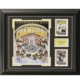 PITTSBURGH PENGUINS 2016 STANLEY CUP CHAMPIONS COMPOSITE 13X16 FRAME