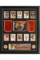 TEAM HISTORY - CHICAGO BLACKHAWKS 20X24 FRAME