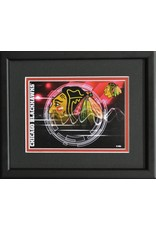 CHICAGO BLACKHAWKS LOGO - 8X10 FRAME