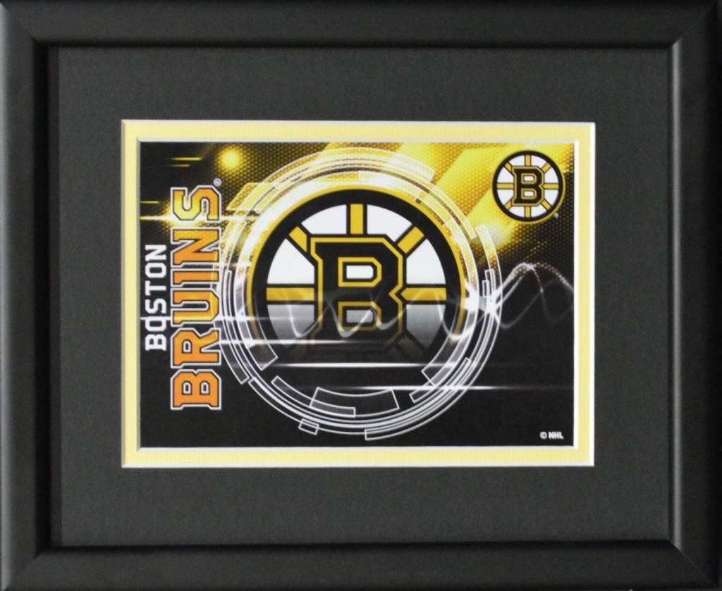 BOSTON BRUINS LOGO - 8X10 FRAME