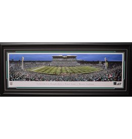 SASKATCHEWAN ROUGHRIDERS FINAL GAME AT MOSAIC STADIUM/TAYLOR FIELD PANORAMA 16X42 FRAME