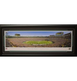 GREEN BAY PACKERS LAMBEAU FIELD PANORAMA 16X42 FRAME