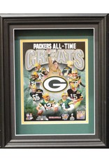 GREEN BAY PACKERS ALL-TIME GREATS 11X14 SHADOW BOX