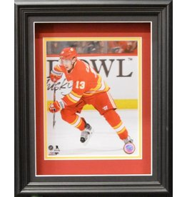 JOHNNY GAUDREAU 11X14 SHADOW BOX - CALGARY FLAMES