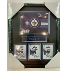 WINNIPEG JETS POSTCARD 11X14 FRAME