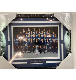TORONTO MAPLE LEAFS 1967 STANLEY CUP CHAMPIONS 11X14 FRAME