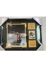 GERRY CHEEVERS 13X16 FRAME - BOSTON BRUINS