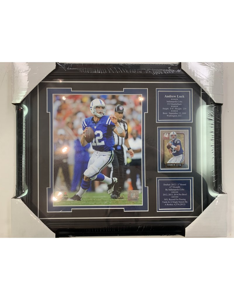 ANDREW LUCK 13X16 FRAME - INDIANAPOLIS COLTS