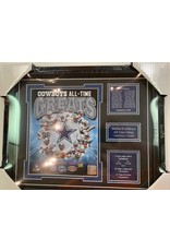 DALLAS COWBOYS ALL-TIME GREATS 13x16 FRAME