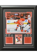 JONATHAN TOEWS 13X16 FRAME - CHICAGO BLACKHAWKS