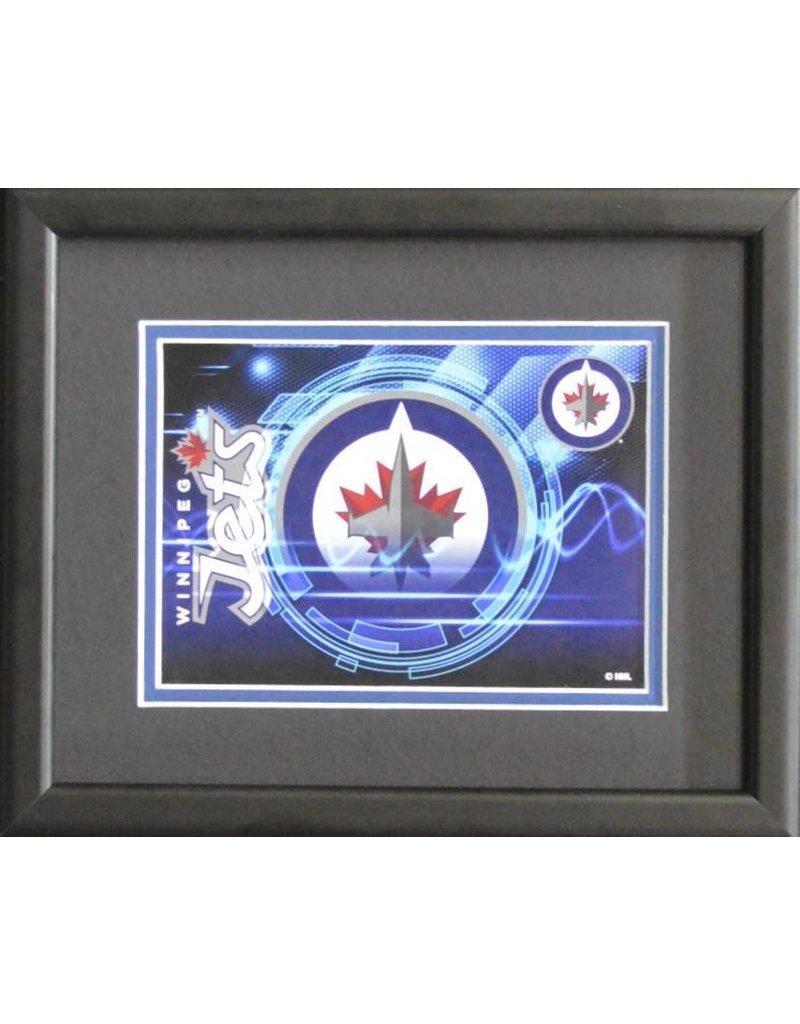 Winnipeg Jets Logo - 8x10 Frame