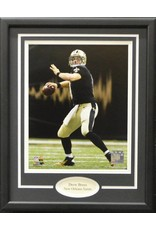 DREW BREES 11X14 FRAME NEW ORLEANS SAINTS
