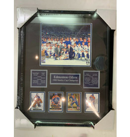 EDMONTON OILERS 1988 STANLEY CUP CHAMPIONS 16X20 FRAME