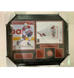 COLE CAUFIELD 16X20 FRAME - MONTREAL CANADIENS