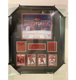 MONTREAL CANADIENS 2021 CONFERENCE CHAMPIONS 16X20 FRAME