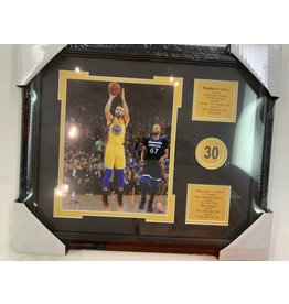 STEPHEN CURRY 13X16 FRAME - GOLDEN STATE WARRIORS