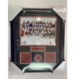 2002 MEN'S OLYMPIC 13X16 FRAME - TEAM CANADA