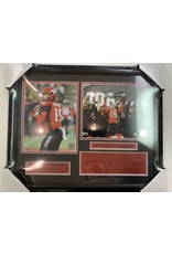 BO LEVI MITCHELL 2018 GREY CUP CHAMPIONS - CALGARY STAMPEDERS 16X20 FRAME