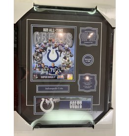 INDIANAPOLIS COLTS ALL-TIME GREATS 16X20 FRAME