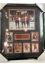 MONTREAL TRILOGY 16X20 FRAME - MONTREAL CANADIENS