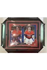 PATRICK ROY & CAREY PRICE - 16X20 FRAME MONTREAL CANADIENS LEGACY COLLECTION