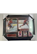 MONTREAL CANADIENS ALL-TIME GREATS 16X20 FRAME RED