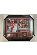 LANNY MCDONALD 1989 STANLEY CUP CHAMPIONS 16X20 FRAME - CALGARY FLAMES