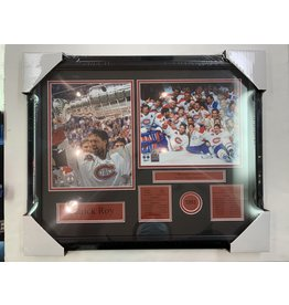 PATRICK ROY 1993 STANLEY CUP CHAMPIONS 16X20 FRAME - MONTREAL CANADIENS