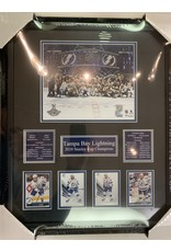 TAMPA BAY LIGHTNING 2020 STANLEY CUP CHAMPIONS 16X20 FRAME