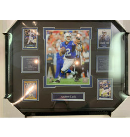 ANDREW LUCK 16X20 FRAME - INDIANAPOLIS COLTS