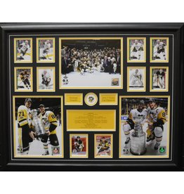 PITTSBURGH PENGUINS 2017 STANLEY CUP CHAMPIONS 22X28 FRAME