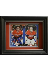 PATRICK ROY & CAREY PRICE LEGACY COLLECTION 11X14 SHADOW BOX - MONTREAL CANADIENS
