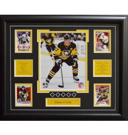SIDNEY CROSBY 16X20 FRAME - PITTSBURGH PENGUINS